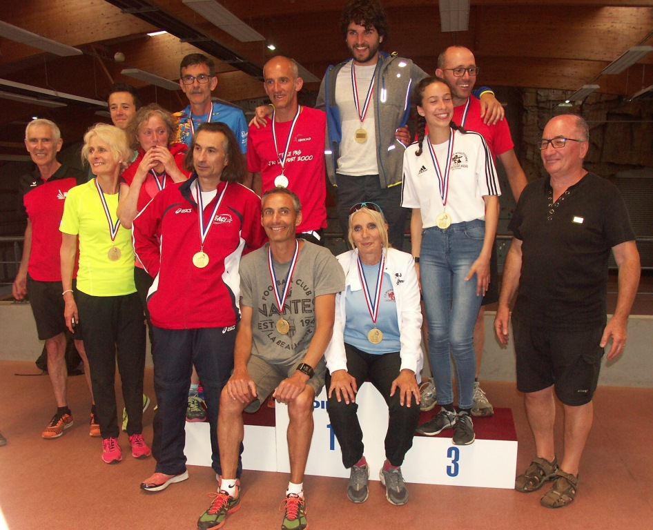 Médaillés de la marche